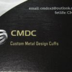 CMDC Custom Metal Design Cuffs